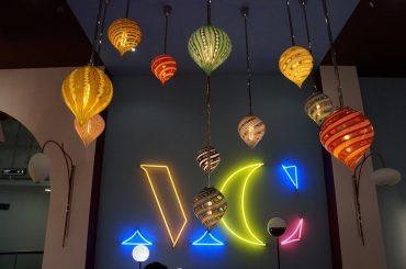 Luminárias expostas na Maison & Objet de janeiro de 2020 (foto Studio Prestes)
