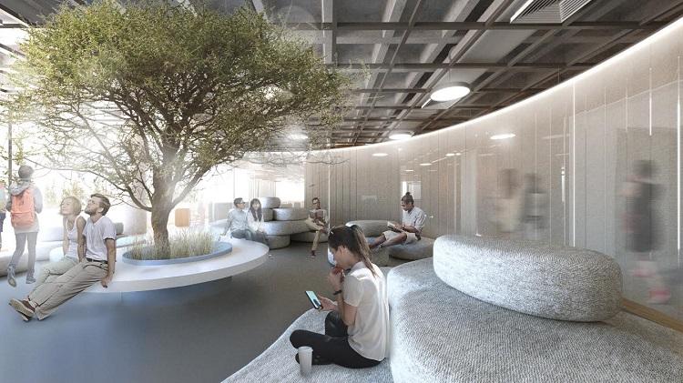 Projeto vencedor do escritório gaúcho Ultra para a sede brasileira do Google