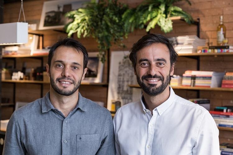Arquitetos fundadores: Gustavo (E) e Marcelo Seferin