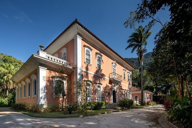 Palacete Brando Barbosa foi construído em 1860