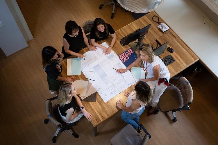 Equipe do escritório NV Arquitetura