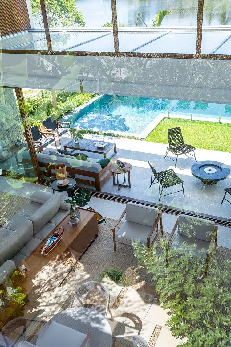 Convívio no conforto dos materiais, plantas e mobiliário escolhidos para compor um projeto especial tem mais de uma alternativa