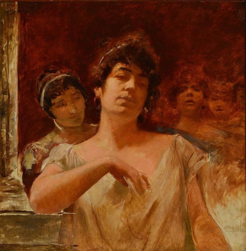 Figuras Femininas, Belmiro de Almeida, 1900