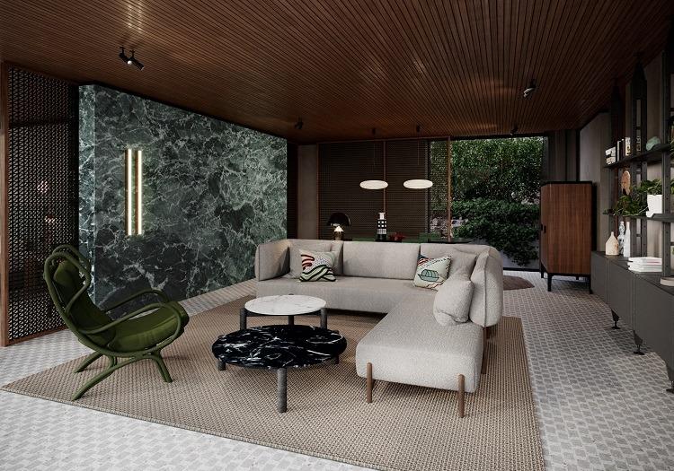 Conforto com o design de Patricia Urquiola
