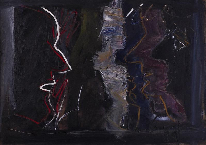 Perfil V, obra de 1984 de Iberê Camargo