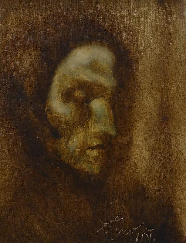 Obra Autorretrato, de Ismael Nery criada em 1924