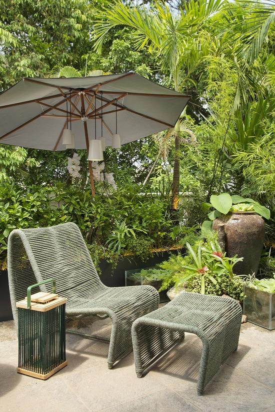 Mobilliário Tidelli protagoniza o ambiente outdoor