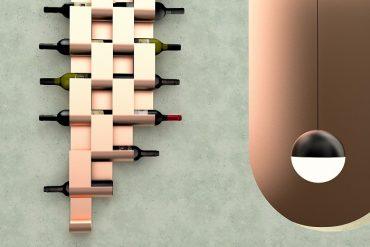 Choque Design: Cacho Wine Stand com a Móveis James ganha ouro no If Design Award