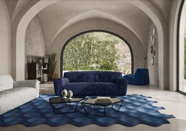 Natuzzi Italia lança sofá Argo de Paola Navone