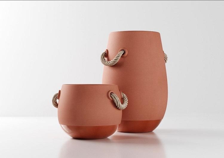 Vasos Silo de Marcel Wanders para a Natuzzi