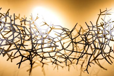 Graveto, obra de Magna Sperb, foto Nilton Santolin