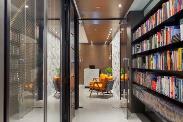 Escritório de Advocacia projetado por Mundstock Arquitetura