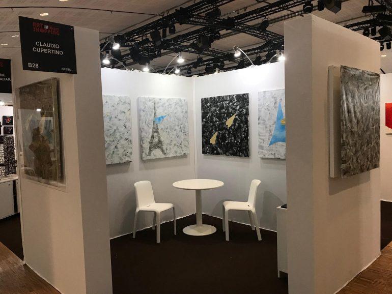 Exposição de Claudio Cupertino em Paris