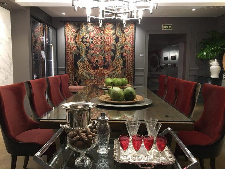 Sala de Jantar de Ana Beatriz Peterlongo Franciosi e Vera Peterlongo na Mostra EliteDesign, site eleoneprestes.com