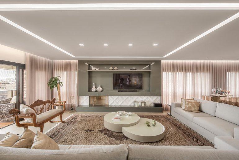 Apartamento projetado por Juliana Moura, site eleoneprestes.com