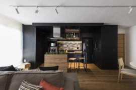 Apartamento reformado pela arquiteta Andrya Kohlmann