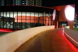 Memorial Luiz Carlos Prestes em Porto Alegre, obra de Oscar Niemeyer em POrto Alegre