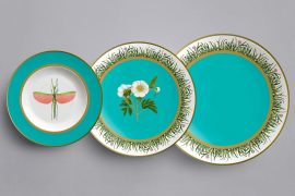 Salone del Mobile Milano, porcelain, table, eleone prestes