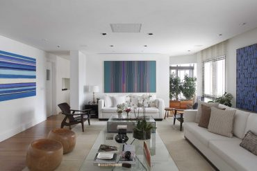 No entorno da arte, design e décor no projeto de RAP Arquitetura e Interiores -site eleone prestes