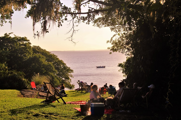 Vista da área preferida para piqueniques (foto Roberta Amaral, divulgação)