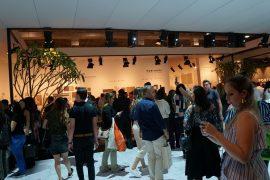 Muito movimento nos estandes e corredores do Transamérica Expo Center