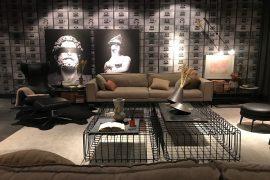 Living Pormade, de Léo Shehtman com atmosfera dramática, obras de arte e design