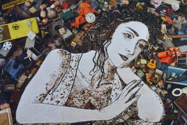 Daydreamer, da Série Passione, obra de 2010de Vik Muniz