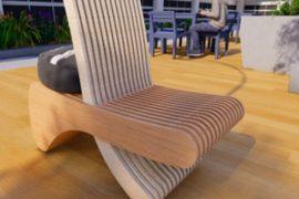 Cadeira participante do Concurso IMed